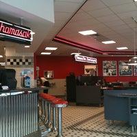 Photo taken at Steak 'n Shake by Heather C. on 4/20/2012