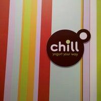 Photo taken at Chill Yogurt Cafe by Mitchell P. on 8/15/2011