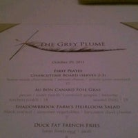 Photo taken at The Grey Plume by Jara S. on 10/30/2011