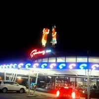 Photo taken at Superdawg Drive-In by Megan M. on 6/15/2011