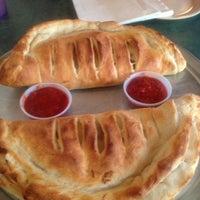 Photo taken at Frank's Roman Pizza by Kathryn B. on 7/25/2012