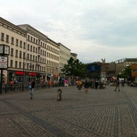 Photo taken at Hermannplatz by Alexander A. on 6/19/2012