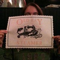 Photo taken at Old Bay Steamer by Christina M. on 9/18/2011
