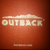 Photo taken at Outback Steakhouse by Cara on 7/24/2012