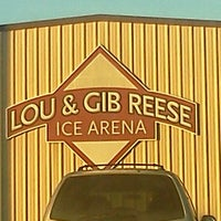 Photo taken at Lou & Gib Reese Ice Arena by Kevin T. on 1/6/2012