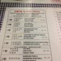 Photo taken at M Star Cafe 明星茶餐廳 by C C. on 10/27/2011