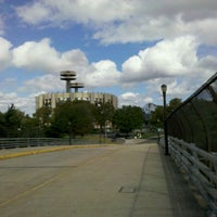 Photo taken at World's Fair Marina by Todd V. on 9/18/2011