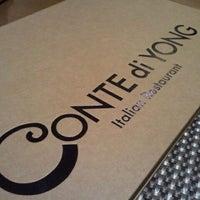 Photo taken at Conte di Yong by Nina K. on 3/22/2012