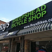 Photo taken at Roy's Sheepshead Cycle by Effie T. on 7/20/2011