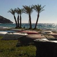 Photo taken at La Herradura Beach by Inmaculada S. on 7/21/2011