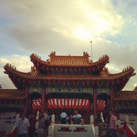 Photo taken at Thean Hou Temple (天后宫) by See Tho C. on 1/26/2012