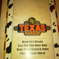 Photo taken at Texas Roadhouse by Lucia S. on 1/10/2012