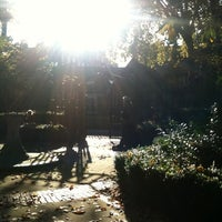Photo taken at St Mary Abbots Gardens by Edward K. on 11/1/2011
