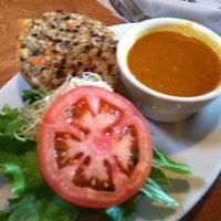 Photo taken at Lotus Cafe & Juice Bar by Denise C. on 12/13/2011