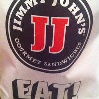 Photo taken at Jimmy John's by Lori P. on 3/31/2012