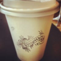 Photo taken at Stumptown Coffee Roasters by Kate S. on 8/12/2012