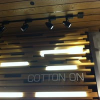 Photo taken at Cotton On by H. C. on 8/18/2012