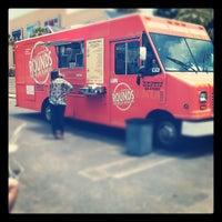 Photo taken at Rounds Premium Burgers by Amanda B. on 6/19/2012