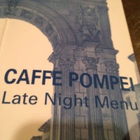 Photo taken at Caffe Pompei by Keith V. on 8/8/2012