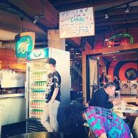 Photo taken at BrainWash Cafe & Laundromat by Charley M. on 6/6/2012