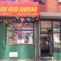Photo taken at Golden Fried Dumpling by Adam N. on 8/24/2012