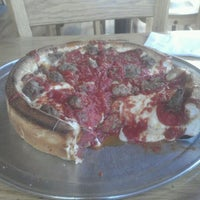 Photo taken at Papa Del's Pizza by Jim C. on 4/11/2012