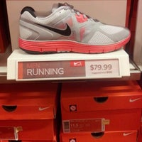Photo taken at Nike Factory Store by Al D. on 5/16/2012