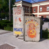 Photo taken at Berlin Wall by Becky on 9/2/2012