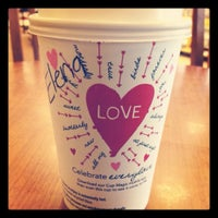 Photo taken at Starbucks by Elena R. on 2/15/2012