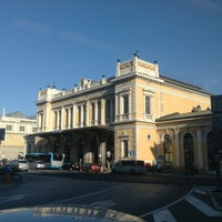 Photo taken at Stazione Trieste Centrale by Carlo F. on 7/31/2012