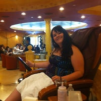 Photo taken at Ambiance Nail Salon & Spa by Sunny P. on 7/6/2012
