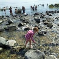 Photo taken at Sea of Galilee - Kinneret (כנרת) by d b. on 3/9/2012