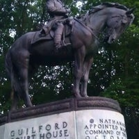 Photo taken at Guilford Courthouse National Military Park by Venus B. on 5/25/2012