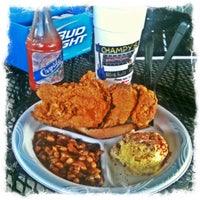 Photo taken at Champy's Famous Fried Chicken by Matt B. on 4/18/2011