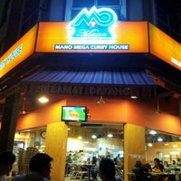 Photo taken at Mano Mega Curry House by Adrian Z. on 1/8/2012