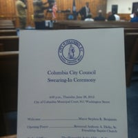 Photo taken at City Of Columbia Municipal Court by Nicole S. on 6/28/2012