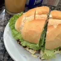 Photo taken at Mondego Padaria & Restaurante by Leandro F. on 3/26/2012