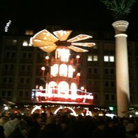 Photo taken at Leipziger Weihnachtsmarkt by Thomas E. on 12/15/2011