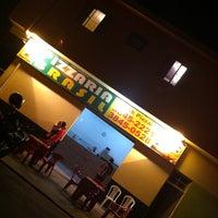 Photo taken at Pizzaria Brasil by Elton N. on 5/5/2012