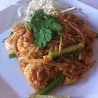 Photo taken at Thai Bros Restaurant by Vincent M. on 8/3/2011