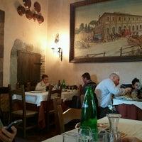 Photo taken at Il Postiglione Ristorante by Ilenia P. on 3/4/2012