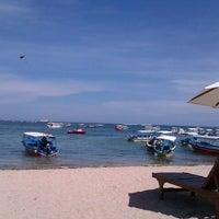 Photo taken at Tanjung Benoa Beach by Rany.H. R. on 11/17/2011