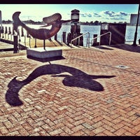 Photo taken at Town Point Park by Crystal T. on 11/1/2011