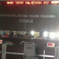 Photo taken at Kantor Pelayanan Pajak Pratama Soerang by bang j. on 9/29/2011