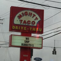Photo taken at Mighty Taco by Robin R. on 3/13/2011