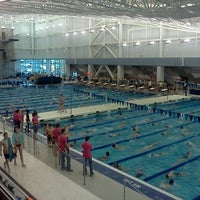 Photo taken at Greensboro Aquatic Center by Matthew W. on 1/14/2012