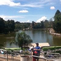 Photo taken at Parque de Los Lagos by Yami L. on 7/8/2012