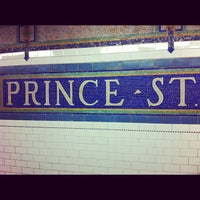 Photo taken at MTA Subway - Prince St (N/R) by Chris F. on 10/15/2011