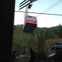 Photo taken at Grouse Gondola by Shane H. on 2/24/2012