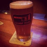 Photo taken at Sharp Edge Beer Emporium by Matt A. on 8/11/2012